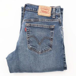 Levi's 550 Straight Leg Denim Jeans